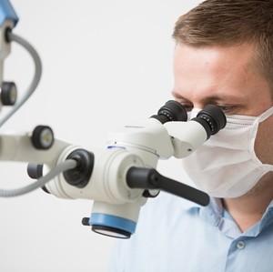 Mikroskop für Wurzelkanalbehandlung